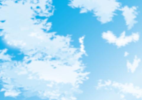 하늘 소재