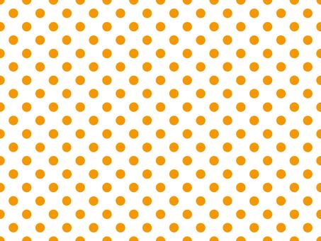 Polka dot pattern Orange 2