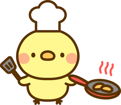 Cooking chick
