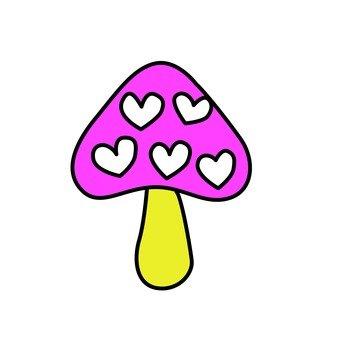 Heart mushroom 2