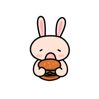 吃漢堡的動物(Usagi先生)