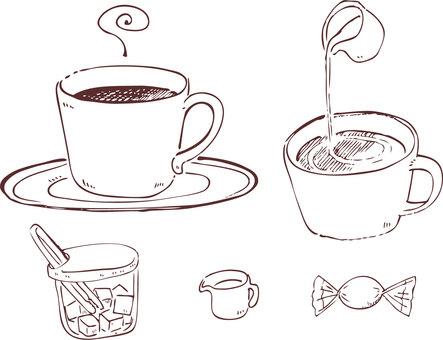 咖啡時間(只限線路)