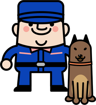 Uncle Fairy Police Dog Trainer