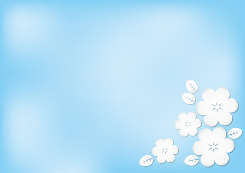 Blue and White Flower 1