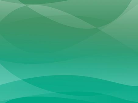Wave paper Wave Grad Green
