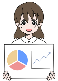Women with graphs + white clothes