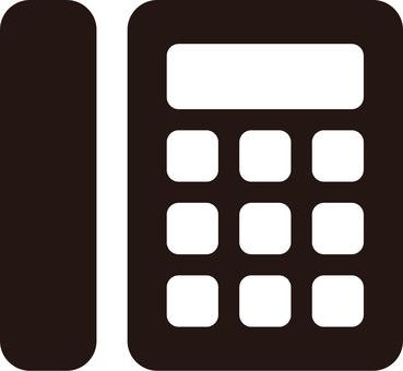 Phone mark _03_ black