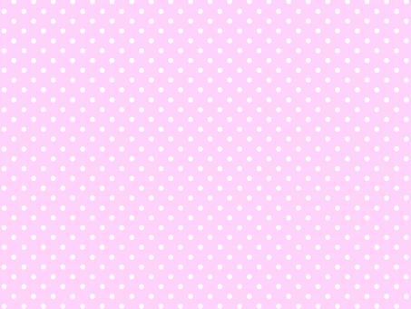 Pink polka dot swatch