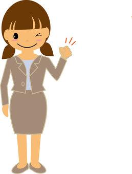 A woman's suit ⑧