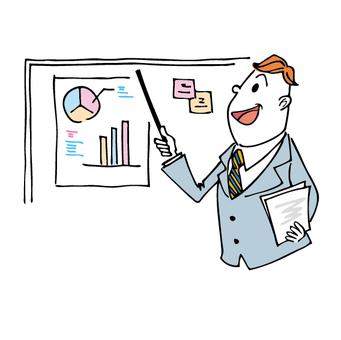Businessman _ Presentation