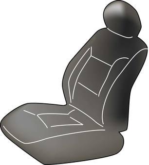 Car seat black
