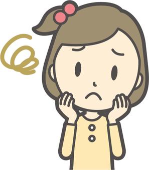 여자 옐로우 긴팔 -213- 가슴