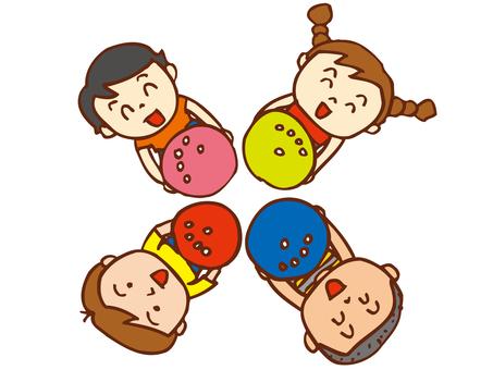 子供ボウリング