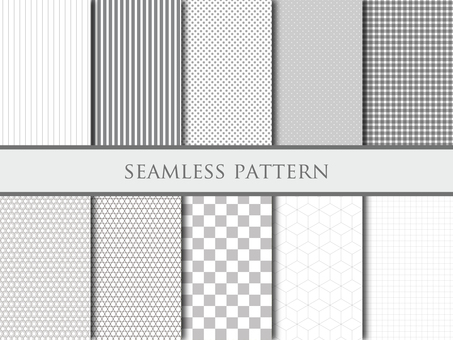 Monotone pattern set