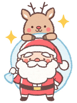 산타와 순록 2