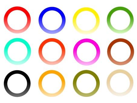Circle circle gradient