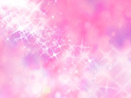 Pink gradation sparkling background