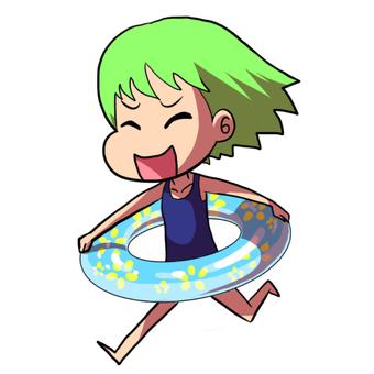 I will swim!