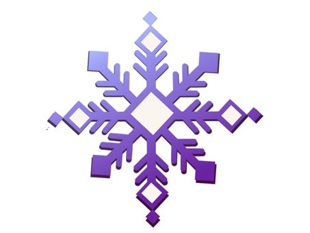 Snow crystal ②