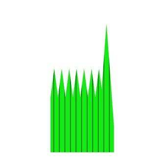 Artificial balun (green / small)