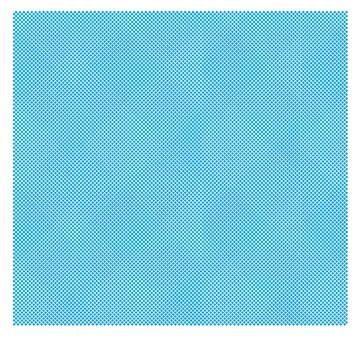 Grid pattern blue