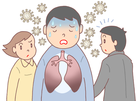 New type pneumonia, virus spread