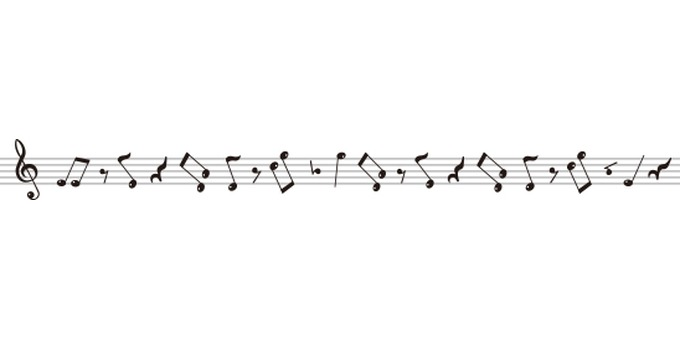 Line of staff notation