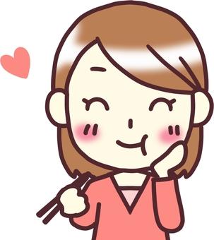 【Women's clothes v】 Front __ chopstick delicious 2
