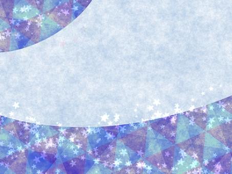 冬天圖像框架