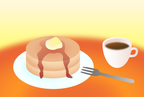 Pancake greeting card