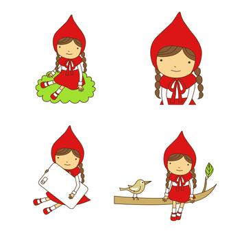 Little Red Riding Hood Set · 01