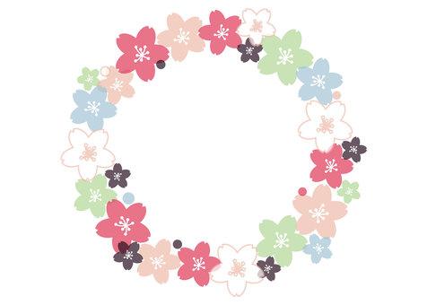 Cherry blossom ☆ frame