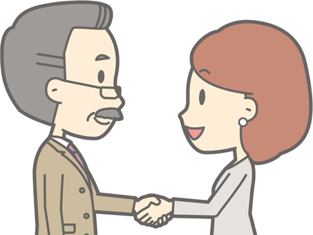 Handshake - 02 - Bust