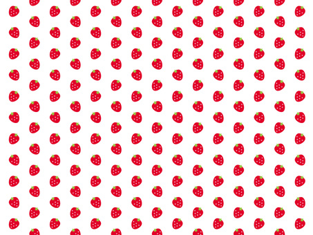 Strawberry wallpaper (white)