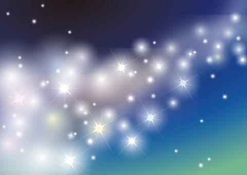 Milky Way Starry Sky
