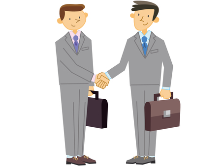 Businessman_ shaking hands