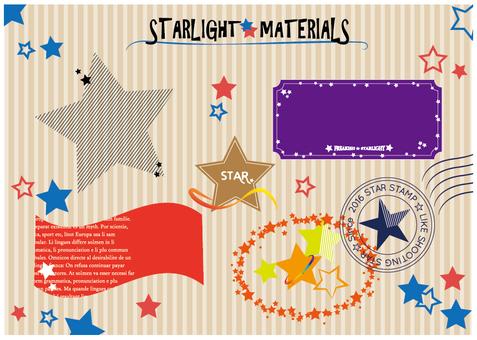 Star frame set
