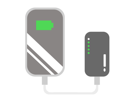 Mobile charger battery