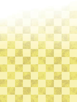 Checkered pattern background green-yellow