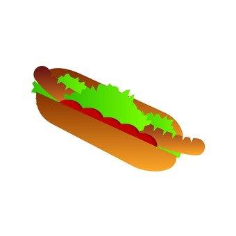 Mountaineering Supplies - Portrait (Hot Dog)