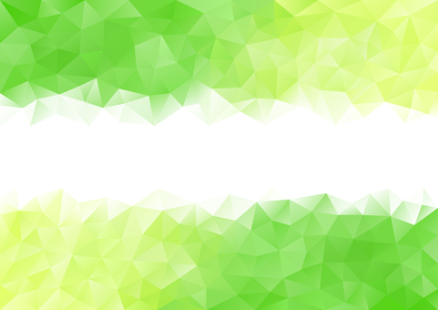 Green and yellow-green polygon background