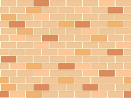 Bright brown brick