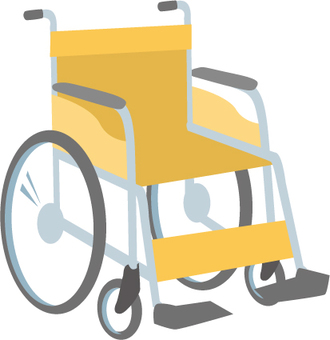 Wheel chair Orange