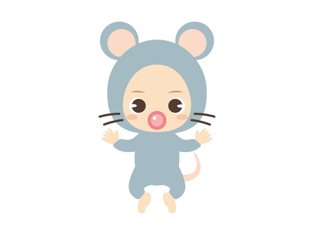 B059_baby clothes baby_mouse