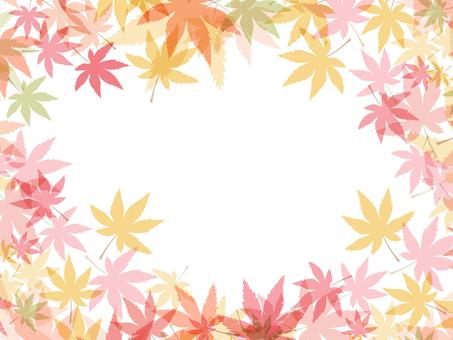 Autumn leaves 椛 material 161016004