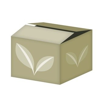 Young leaves of boxes
