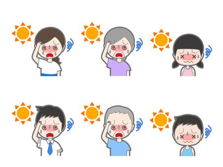 Summary of heat stroke