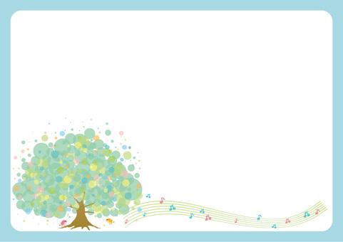 나무 및 작은 새