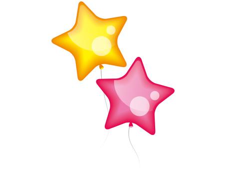 A star balloon