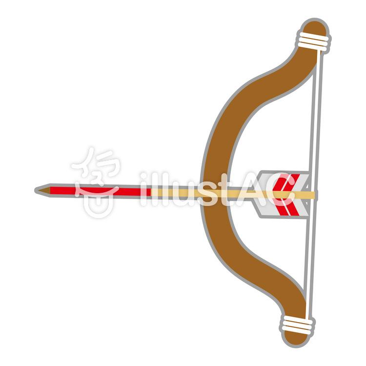 イラスト 弓矢